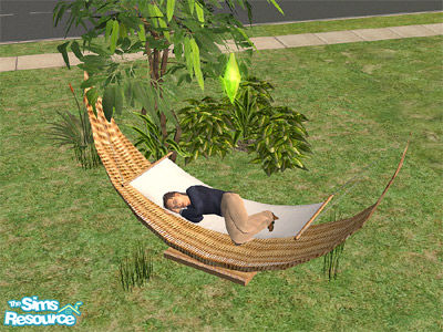 wicker hammock birgit43 u0027s wicker hammock  rh   thesimsresource