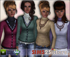 Sims 3 — S2S Pullover by sims2sisters — Pullover for adult woman by Sims2Ssiters