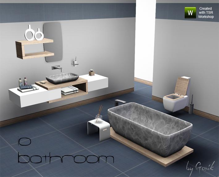 gosik's io bathroom, Badezimmer ideen