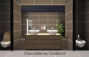 Sims 3 — Chocolate - Tile Set by chalka12 — by Chalka12