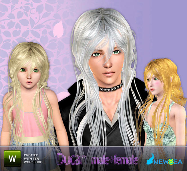 Newsea Ducan Malefemale Hairstyle