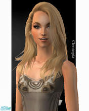 Sims 2 — Hayden Panettiere by TSR Archive — Actress and singer Hayden panettiere. Well known from \'Heroes\'.