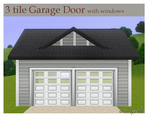 Missyzim S Mz 3x1 Garage Door With Windows