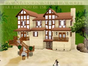 Sims 3 —  by lilliebou — Hi =) This is a fully furnished french beach house. Here are its rooms: -One kitchen/Dining room
