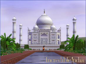 Sims 3 — Taj Mahal Superset by senemm — The Taj Mahal Superset contains a huge set of 20 architectural objects and 2 lots