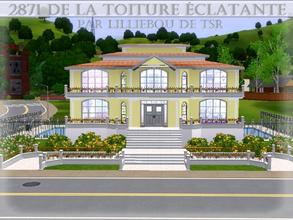 Sims 3 —  by lilliebou — Hi =) This house is furnished and decorated in a chic and old style. Here are some details: