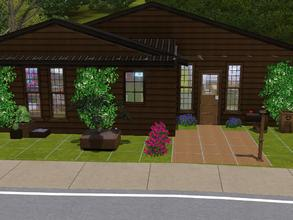 Sims 3 — Madison House by alicia7tommy — This is a two bedroom, one bathroom house. There is a large back yard for