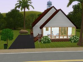 Sims 3 — floridian trailer by charmedtink — this trailer home is designed after my grandparents house. This trailer