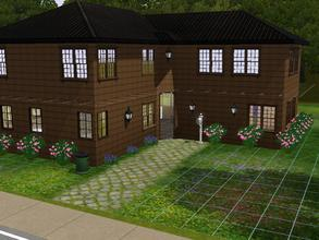 Sims 3 — Madison Home by alicia7tommy — This is a three bedroom/two bathroom home. There is three living spaces two large