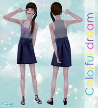 Sims 2 — Colorful Dream by Pretale —