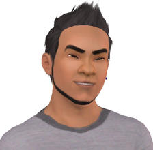 Sims 3 — Galen Maclaine by alicia7tommy — Galen Maclaine doesn't know who his parents are but he is now married to the
