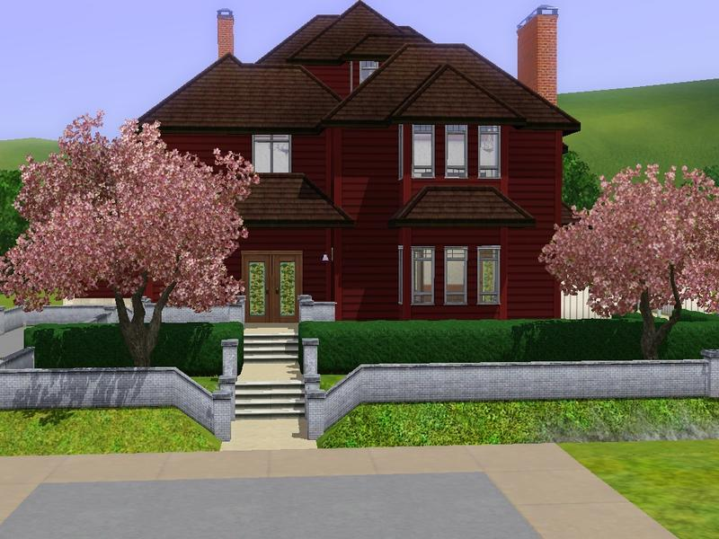 sims 3 downloads - 'halliwell manor'