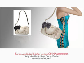 Sims 3 —  Fashion camellia bag By Mars Lee form CHINA 2010.08.02 by kerm_2046 —  Fashion camellia bag By Mars Lee form