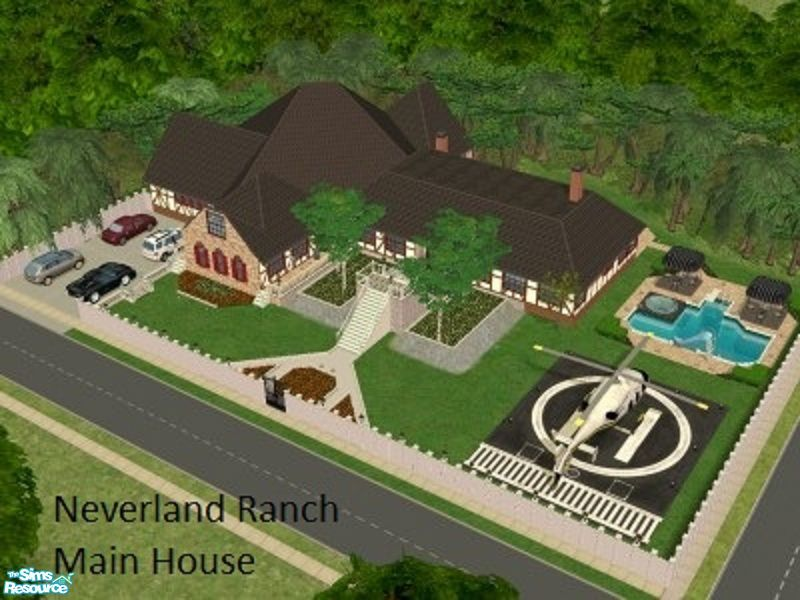 Narutofan S Neverland Ranch Main House