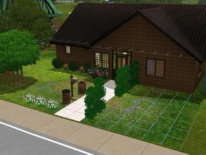 Sims 3 — The Cortland House by alicia7tommy — This is a two bedroom, one bathroom home with an open kitchen and a small