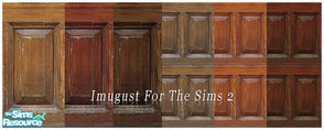 Sims 2 — Set Walls 11 by Imugust — This set including 6 walls.