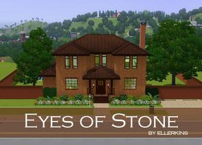 Sims 3 — Eyes of Stone by ellerkins — Need a home for your family that is simple and easy to navigate? This is the home