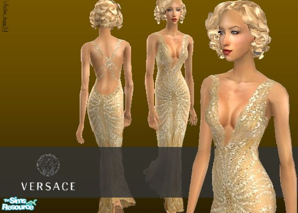 Victor Happy S Christina S Aguilera Versace Dress Vma