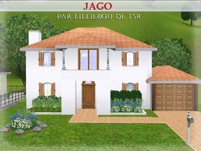 Sims 3 — Jago by lilliebou — Hi :) Here are some details about this spanish house: First floor: -Bathroom -Living room