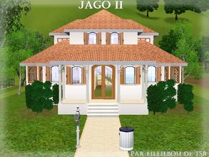 Sims 3 — Jago II by lilliebou — Hi! :) Here are some details about this house: First floor: -Bathroom -Bedroom (Teen)