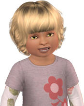 Sims 3 — Amber Chappel by alicia7tommy — Amber Chappel is very friendly and excitable. She is starting out in life but