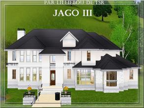 Sims 3 — Jago III by lilliebou — Hi :) Here are some details about this house: First floor: -Living room (TV, Chessboard,