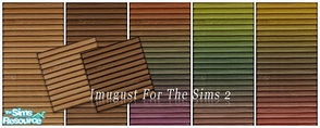 Sims 2 — Set Walls&Floors 20 by Imugust — This set including 5 walls and 2 floors.