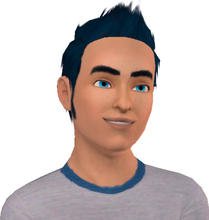 Sims 3 — Camron Goodman-Teen by alicia7tommy — Camron Goodman is an athletic, friendly, lucky, sim with a good sence of