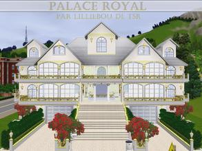 Sims 3 — Palace Royal by lilliebou — Hi! :) Here are some details about this expensive villa/castle: First floor: