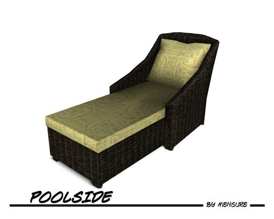 mensure s Poolside Lounge Chair