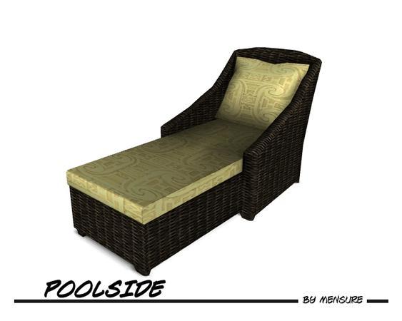 mensure s Poolside Lounge Chair