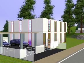 Sims 3 — Moderna Familia-2.Bd, 3.5 Ba by Luron82 — Busy? Have a life and kids? Then you need this house! everything you