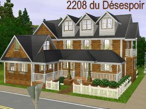 Sims 3 —  by lilliebou — Hi :) Here are some details about this house: First floor: -Living room -Kitchen -Dining room