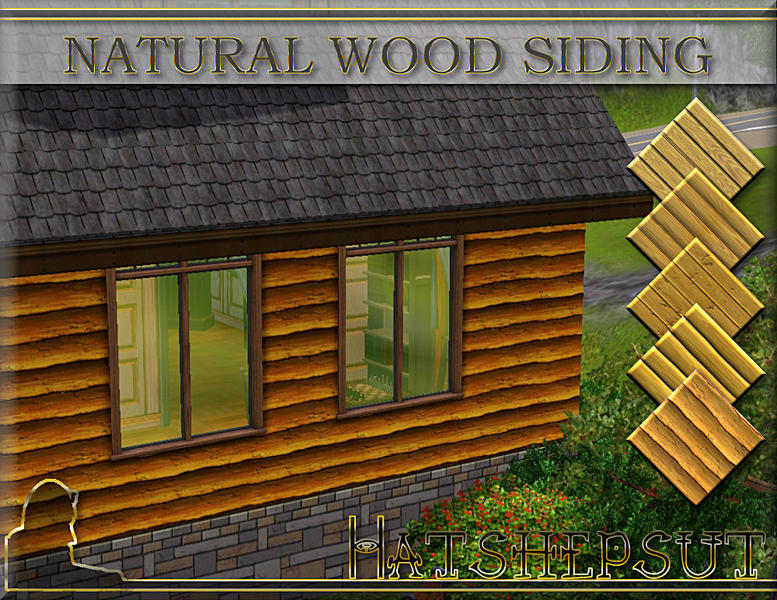 Hatshepsut 39 s natural wood siding for Natural wood siding
