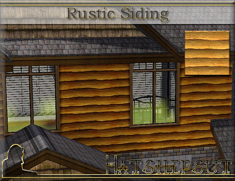 Hatshepsut 39 S Rustic Siding