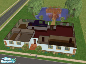 Sims 2 — Shiori Heights by dannybond1990 — A moderately large house. Complete with 3 bedrooms, 2 bath, large living