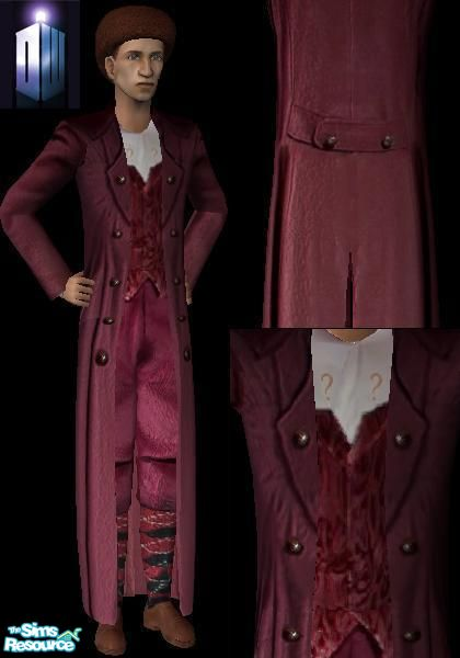 4th Doctor Who Season 18 Costume  sc 1 st  The Sims Resource & Hordrissu0027 4th Doctor Who Season 18 Costume