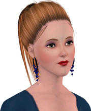 Sims 3 — Merissa Johnes by Danielrocxs — A Late Night Model.