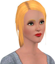 Sims 3 — Bethany Williams by Danielrocxs — ...ummm... She's pretty.