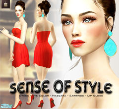 Sims 2 — Sense Of Style - Mix of custom contents by haiduong — It this set you can find everything to make a sim look