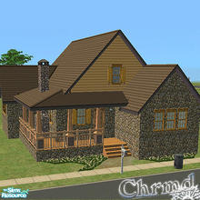 Sims 2 — Quaint Country Cottage by Chrmd — An ideal starter home for under $20,000 that has 2 beds-1 bath and space for a