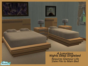 Glamour Life Single Bed