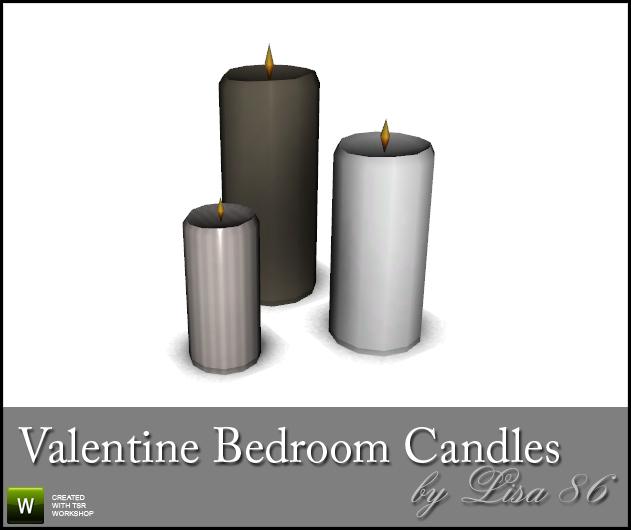 lisa 86 39 s valentine bedroom candles