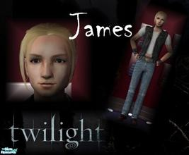 Sims 2 — James by ifonlyihadorli — As the head of the evil nomadic vampires, James is the first to come to the Twilight