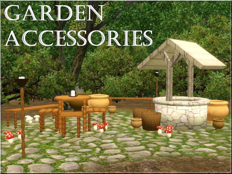 lilliebou's garden accessories, Garden idea