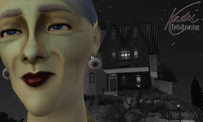 Sims 3 — Fresh Eyeball Earrings by KadriWright — In honor of Halloween, here's a little bedtime story. Do you know that