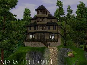 Sims 3 — Marsten House by lilliebou — Hi! Here are some details about this Halloween house: First floor: -Kitchen +