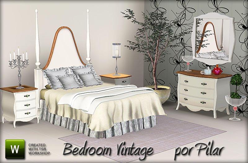 pilar 39 s bedroom vintage