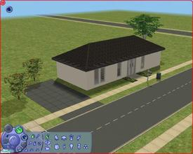 Sims 2 — 2 Lucie Silvas Rd by Anakin_Stupaine — Finally, my first house under 20k. I usually build villa's, but I wanted