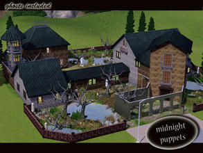 Sims 3 — evi Midnight Puppets Lot by evi —  This lot is a haunted place where the restless spirits of the night make your